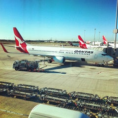 Photo taken at Brisbane Domestic Terminal by Ross B. on 8/31/2012