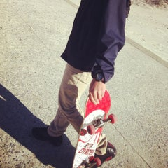 Photo taken at Far Rockaway Skatepark by Spicy M. on 2/27/2012