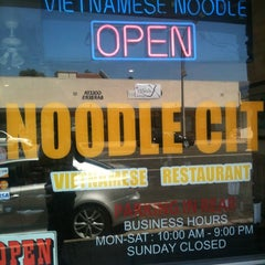 Photo taken at Noodle City by Andrew on 8/25/2012