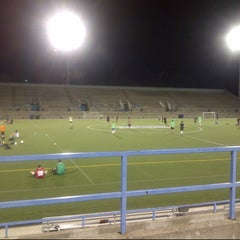 Photo taken at Lamport Stadium by Jose A. on 9/3/2012