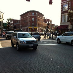 Photo taken at Harvard Square by Ricardo S. on 9/1/2012