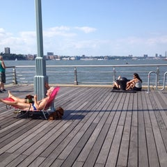 Photo taken at Hudson River Park by Boo boo isa on 7/22/2012
