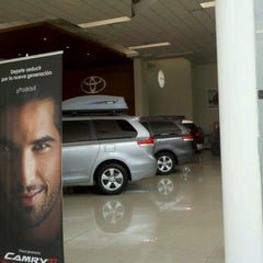 Photo taken at Toyota by Gastón d. on 4/9/2012