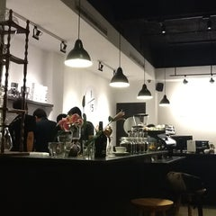 Photo taken at 1/15 Coffee by Fany A. on 6/18/2012