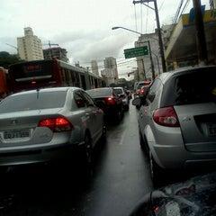 Photo taken at Avenida Santo Amaro by thiago b. on 1/10/2012
