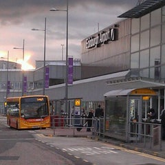 Photo taken at Edinburgh Airport (EDI) by Angelo G. on 10/25/2011