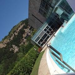 Photo taken at La Reserve Hotel Terme Caramanico Terme by Spocchia S. on 7/13/2012