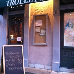 Photo taken at The Trolley Stop by Matthew L. on 7/20/2012