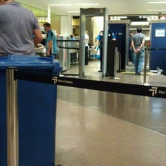 Photo taken at TSA Checkpoint C by Nick S. on 9/5/2011
