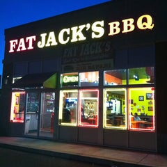 Photo taken at Fat Jack's BBQ by Kevin G. on 6/4/2011