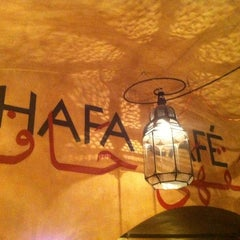 Photo taken at Hafa Cafè by Dario M. on 3/7/2012