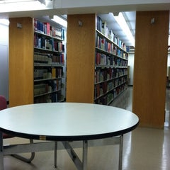 Photo taken at Memorial Library by Anna S. on 4/27/2012