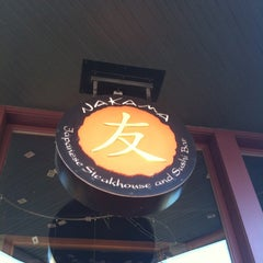 Photo taken at Nakama Japanese Steakhouse by TDR Records on 4/7/2012