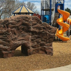 Photo taken at Lamont Does Memorial Park by CALEB B. on 4/7/2012