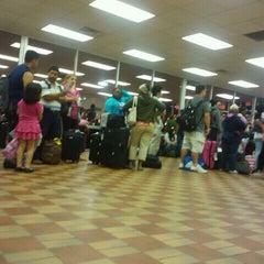 Photo taken at Greyhound Terminal by Lauren G. on 7/28/2011
