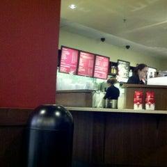 Photo taken at Starbucks by Julie F. on 12/4/2011
