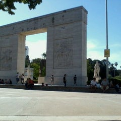 Photo taken at Parque Rivadavia by Lucas B. on 12/4/2011