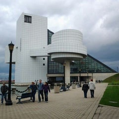 Photo taken at The Rock and Roll Hall of Fame and Museum by Molly G. on 10/15/2011