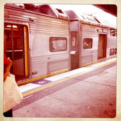 Photo taken at Strathfield Station (Platforms 7 & 8) by Anna B. on 2/28/2011
