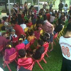 Photo taken at TK/SD/SMP Permata Bunda (Tirtamarta-BPK Penabur) by Henry B. on 4/26/2012