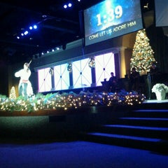 Photo taken at Meadowbrook Church by Ali F. on 12/25/2011