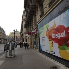 Photo taken at Desigual Avenue de l'Opéra by Boris on 4/12/2012