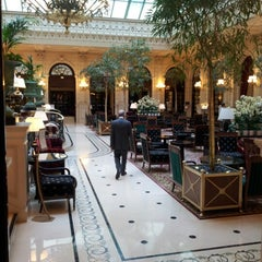 Photo taken at InterContinental Paris Le Grand Hôtel by Rodha R. on 7/17/2012