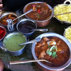 Photo taken at Taste Of India by Holly D. on 6/18/2012