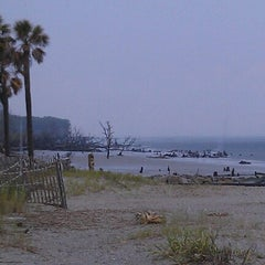 Photo taken at Hunting Island Beach by Missy A. on 8/2/2012