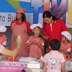 Photo taken at TK/SD/SMP Permata Bunda (Tirtamarta-BPK Penabur) by Wilmar D. on 5/5/2012