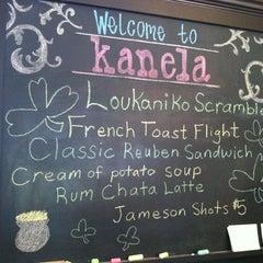 Photo taken at Kanela Breakfast Club by Sherri M. on 3/18/2012