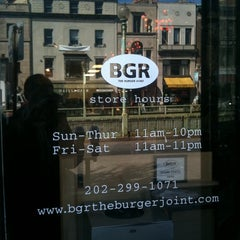 Photo taken at BGR - The Burger Joint by David W. on 3/2/2011