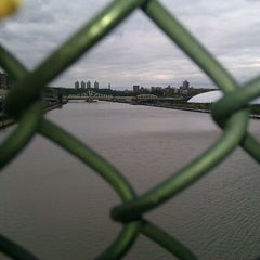 Photo taken at 145th Street Bridge by paul s. on 10/21/2011