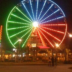 Photo taken at Myrtle Beach SkyWheel by Scott G. on 11/22/2011