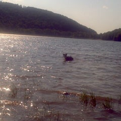 Photo taken at Quaker Lake by Pamela P. on 7/17/2012