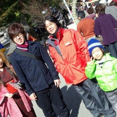 Photo taken at 豊玉姫神社 by Miho I. on 1/2/2012