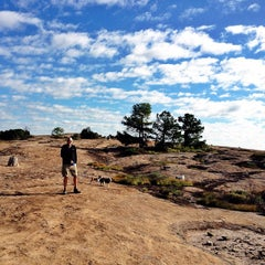 Photo taken at Arabia Mountain Trail by Toby P. on 9/9/2012