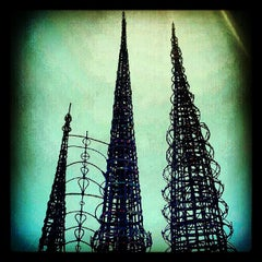 Photo taken at Watts Towers of Simon Rodia State Historic Park by RS70 on 6/2/2012
