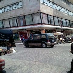 Photo taken at Parisina telas by Varo M. on 5/9/2012