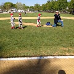Photo taken at Beech Street Baseball Fields by Mike M. on 4/28/2012