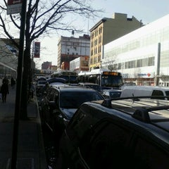 Photo taken at MTA Bus - E 125 St & Lexington Av (Bx15/M35/M60-SBS/M98/M100/M101) by 0zzzy on 3/12/2012