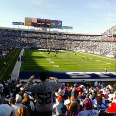 Photo taken at Ralph Wilson Stadium by Christine Marie D. on 11/9/2011