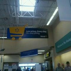 Photo taken at Walmart Supercenter by Shannon N. on 4/30/2011