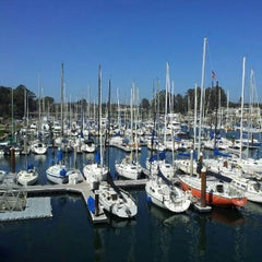 Photo taken at Santa Cruz West Harbor - Docks A-E by Eduardo O. on 9/11/2012