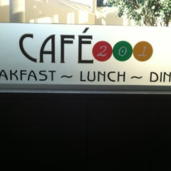 Photo taken at Cafe 201 at Crowne Plaza by Crystal S. on 6/15/2011