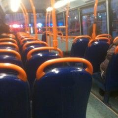 Photo taken at TfL Bus 8 by Jai W. on 10/28/2011