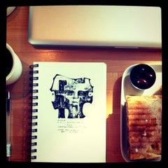 Photo taken at Café for Contemporary Art by Aleksandar Atza V. on 9/20/2011