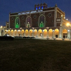 Photo taken at Asbury Park Convention Hall by Jeffrey H. on 11/26/2011