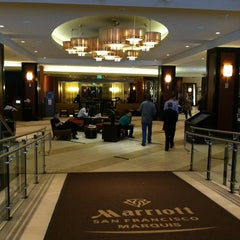 Photo taken at San Francisco Marriott Marquis by Christina H. on 8/27/2012