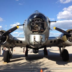 Photo taken at Waukesha County Airport (UES) by Buckley B. on 8/21/2012
